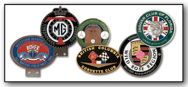 Custom Automobile Badges