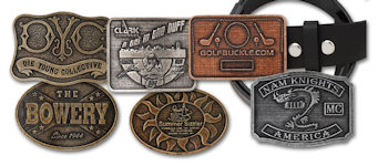 Custom Budget Machine Finished Belt Buckles