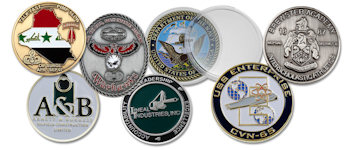 Custom Antique Die Cast Coins