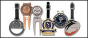 Custom Logo Golf Products - Bag Tags, Divot Tools, Ball Markers, Towel Holders