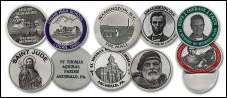 Custom Pewter Photo Etched Coins