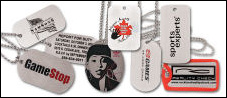 Aluminum Printed Dog Tags