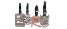 Antique Finish Bag Tags