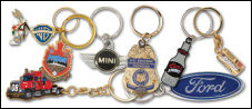Custom Iron Die Struck Key Chains