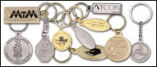 Custom Die Struck Key Chains