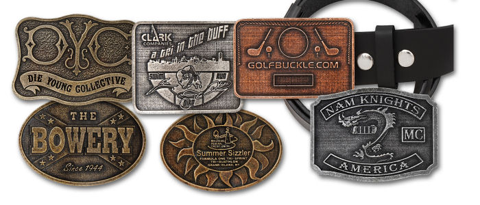 Budget Belt Buckles in Antique Finish - Machine Finished