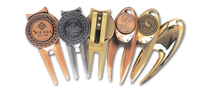 Custom Die Cast Divot Tools