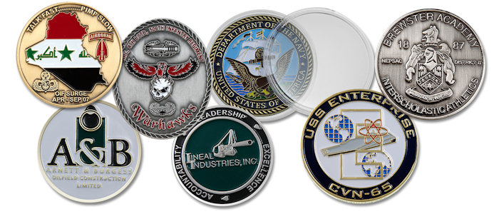 Custom Iron Die Struck Coins