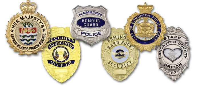 Custom Police Badges - Your Logo, Your Design - Custom made