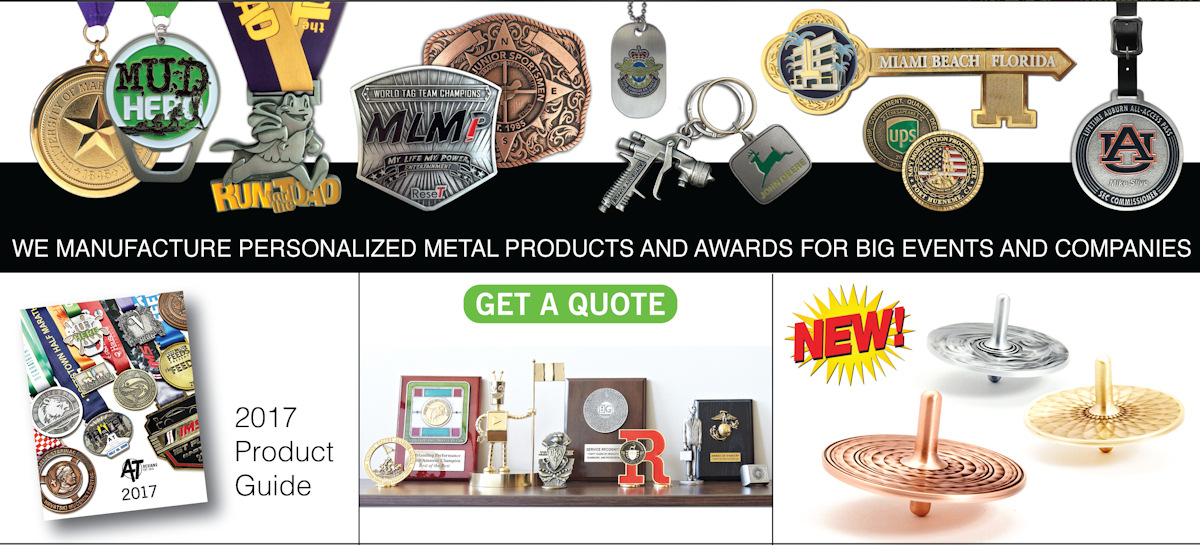 AT Designs - Custom and Personalized Metal Products
