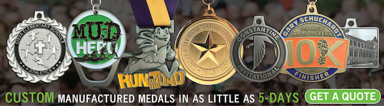 Custom Manufactured Medals in as Little as 5 Days - Get a Free Quote