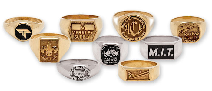 Custom Rings - Gold and Sterling Silver